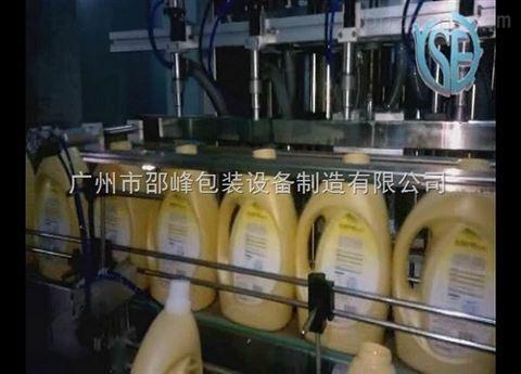 洗衣液灌装机 全自动化操作 伺服控制