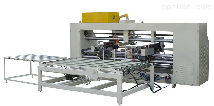 纸箱包装机械三伺服双片成型钉箱机厂家