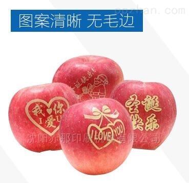水果印字机  苹果梨橘子图案印刷移印机