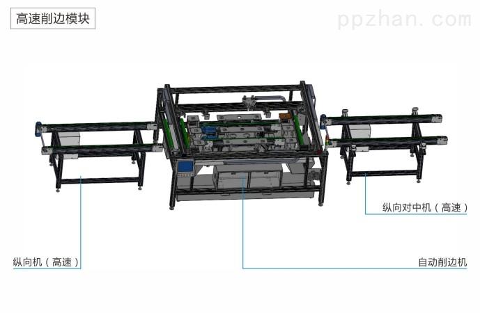 100MW太阳能组件生产线高速打胶装框设备