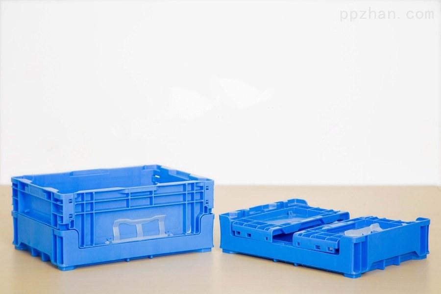 苏州迅盛内倒式折叠箱S602塑料箱厂家直销