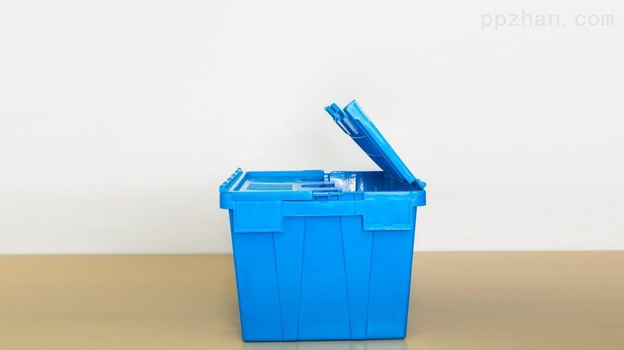 苏州迅盛斜插箱防尘箱6432塑料箱工厂直销