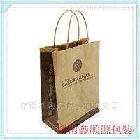 厂家直销牛皮纸手提袋量大从优纸袋定制厂家