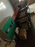 机械手点数伟明牌桃袋果袋机用的省心。